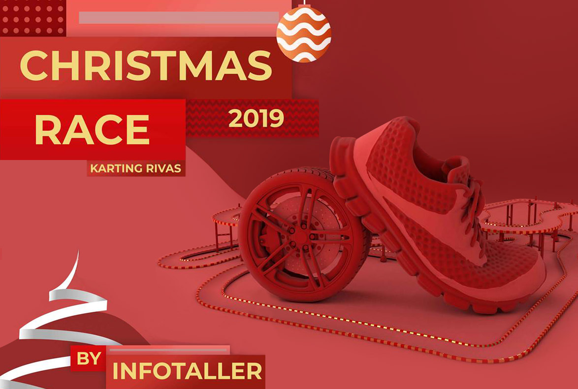 Road House te da la oportunidad de ser un piloto de karts y participar en la Christmas Race