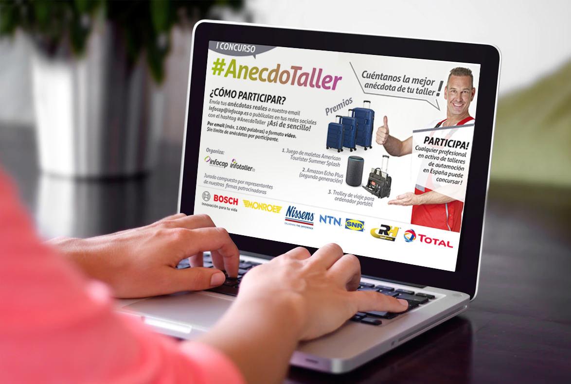 Gran éxito de participación en #AnecdoTaller, el concurso patrocinado por Road House