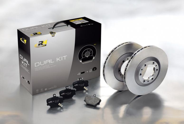 Dual Kits, para cambiar las pastillas de freno y discos a la vez