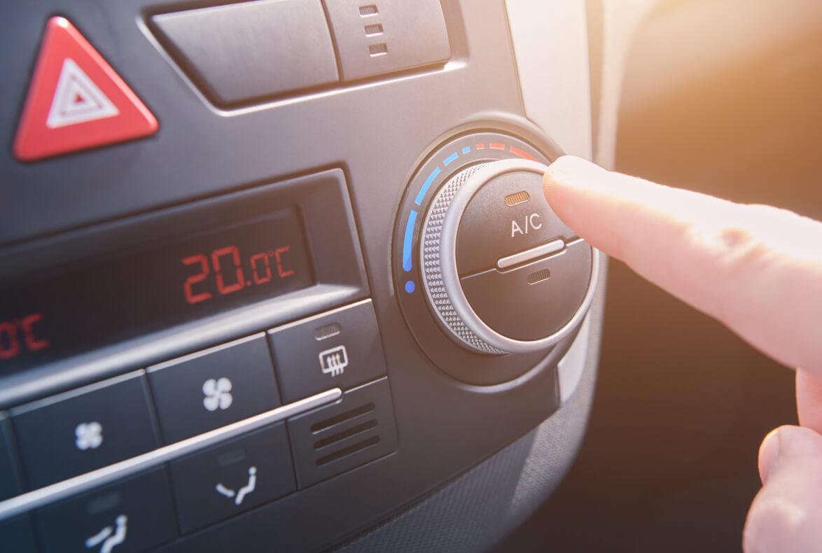 fallos climatización vehículos