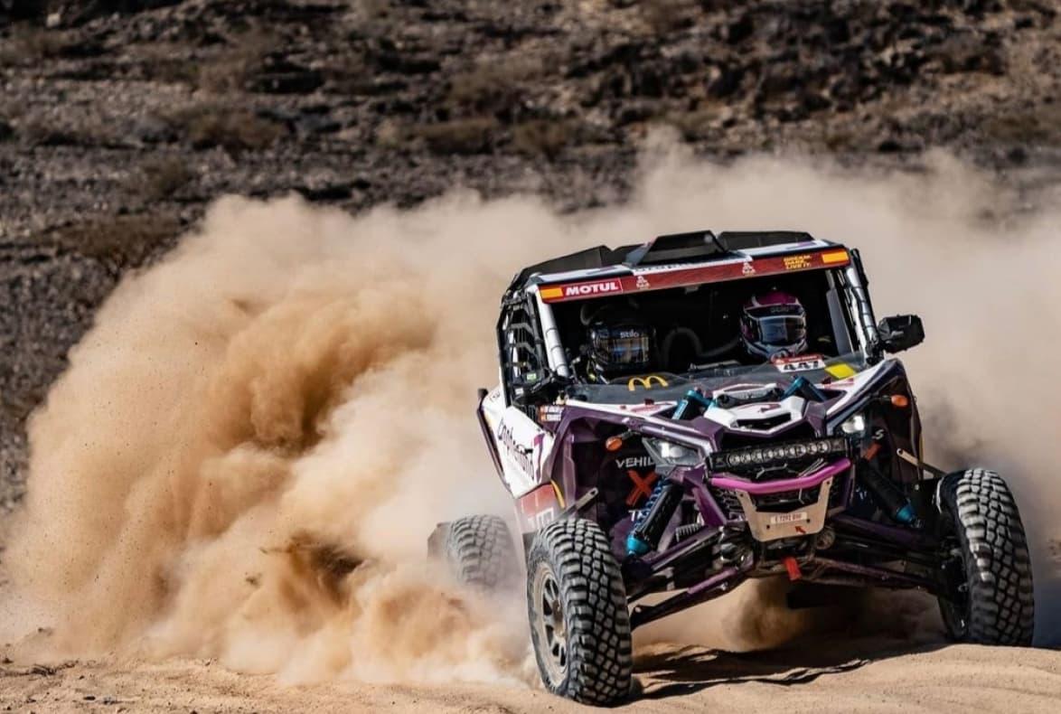 Edu Aragón, copiloto del equipo de Vehils Xtreme 4×4 nos cuenta como ha sido su experiencia en la edición del Dakar 2021