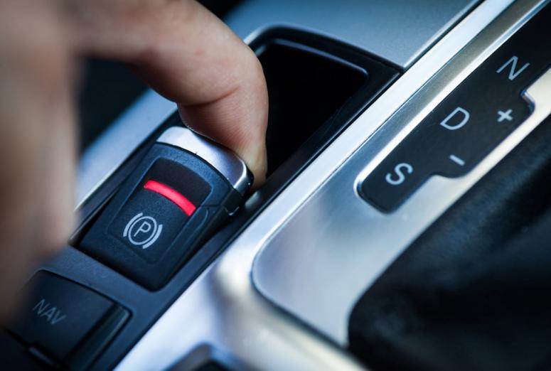 Los principales componentes del freno de estacionamiento eléctrico