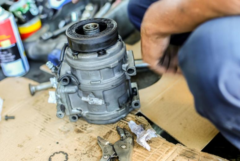Ocho pasos previos al montaje de un compresor de aire acondicionado