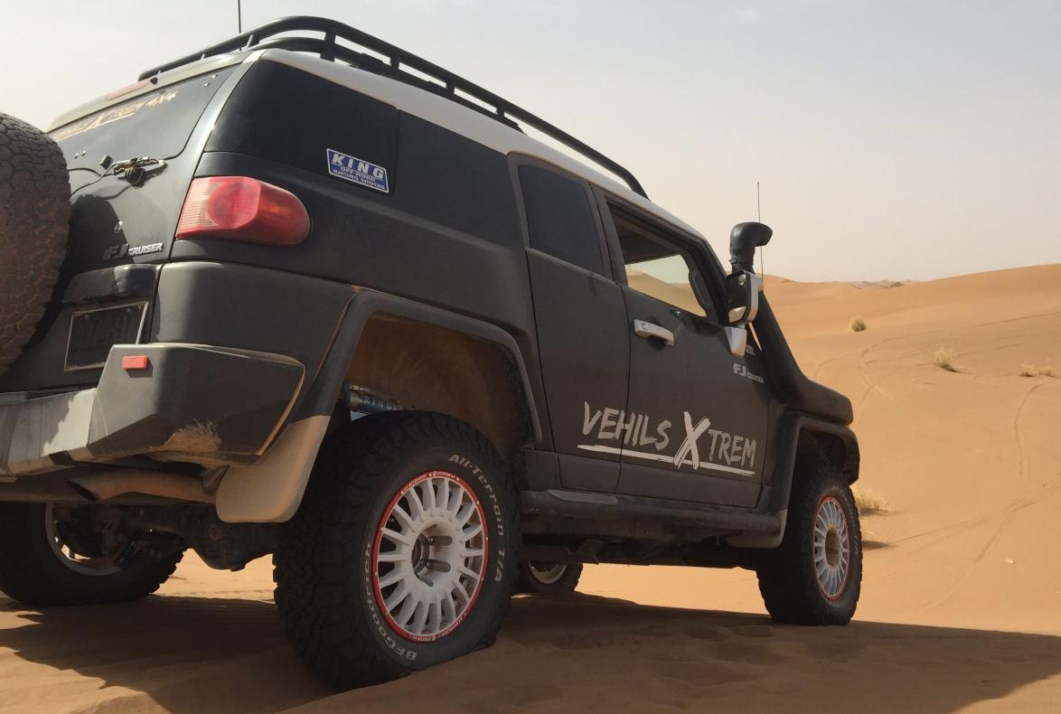 Road House patrocina en el Dakar 2021 al equipo Vehils Xtreme 4×4