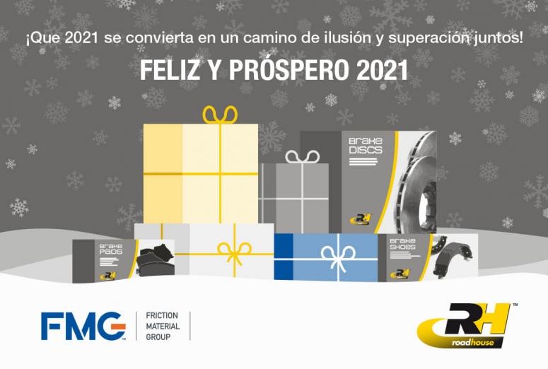 En ruta hacia la Navidad del 2021 ¡Road House os desea Feliz Año!