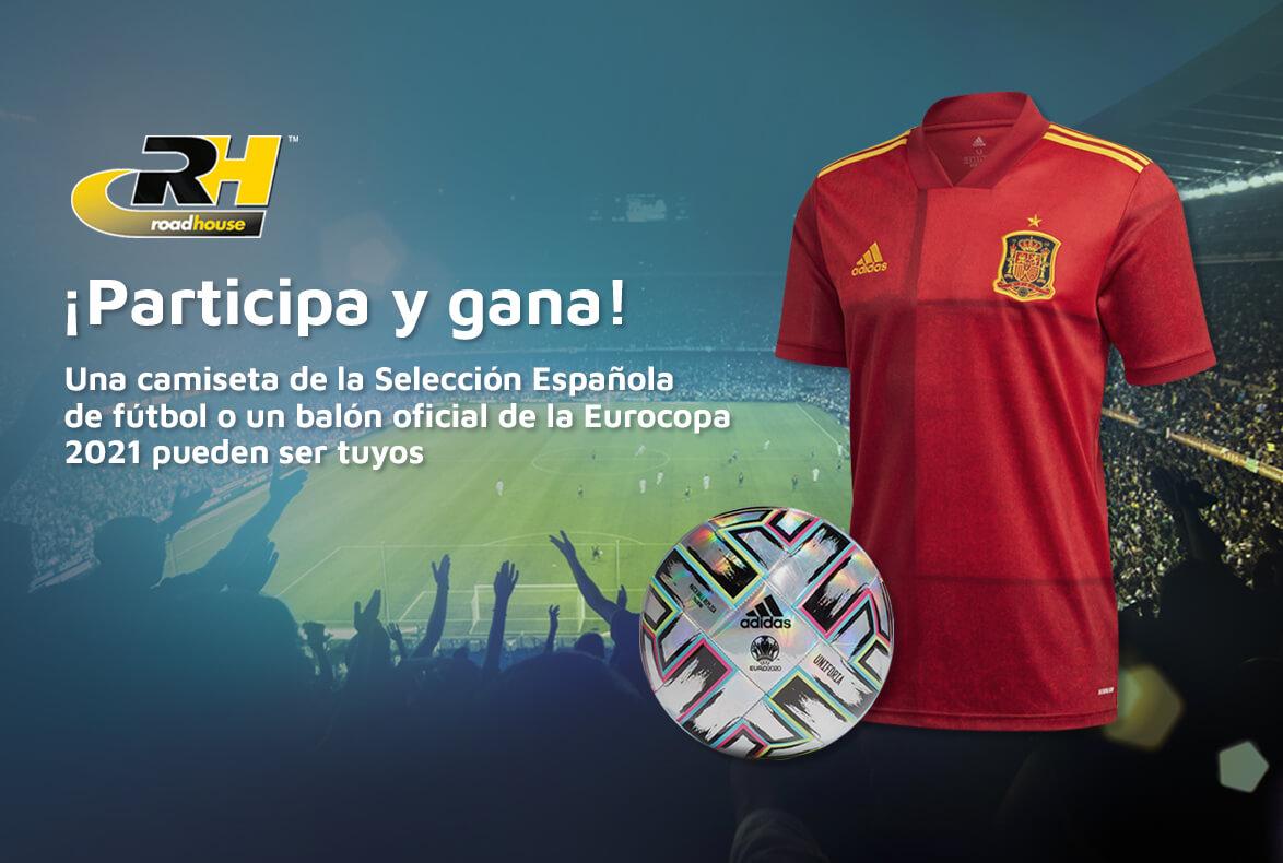 Eurocopa 2021, sorteo camisetas y balones